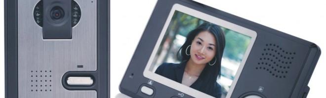 Wireless video Door Phone with Intercom